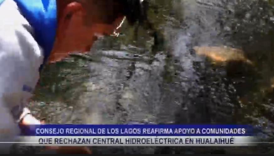 CONSEJO REGIONAL, REAFIRMA APOYO A COMUNIDADES QUE RECHAZAN CENTRAL HIDROELÉCTRICA EN HUALAIHUÉ