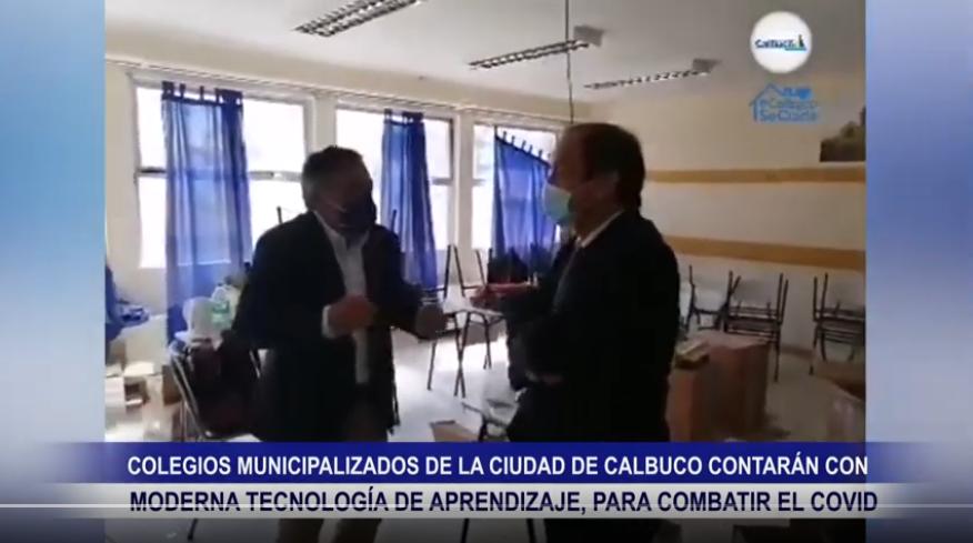 COLEGIOS MUNICIPALIZADOS DE LA COMUNA DE CALBUCO CONTARAN CON MODERNA TECNOLOGÍA DE APRENDIZAJE